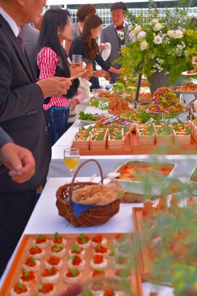 太陽の恵みをふんだんに浴びた無農薬・減農薬野菜を中心の料理の数々。