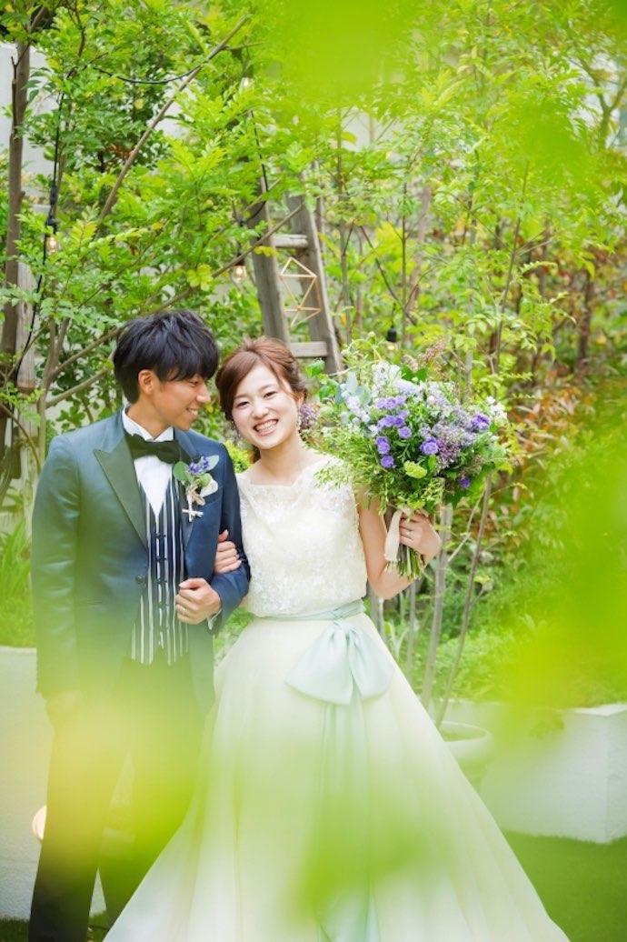 想像以上の結婚式に大満足。そして笑顔いっぱい