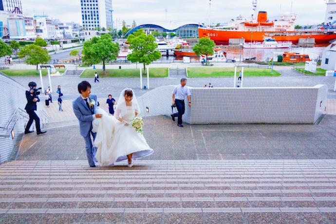 大好きな場所名古屋港水族館にて記念のフォト撮影